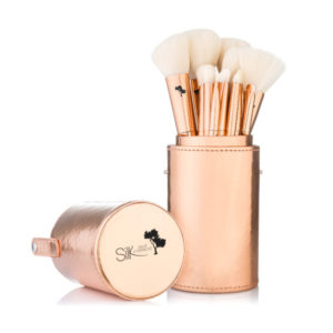 VEGAN ROSE GOLD 15 PIECE BRUSH SET